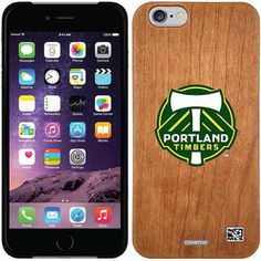 Portland Timbers Emblem Design on Apple iPhone 6 Madera Thinshield Case by Coveroo