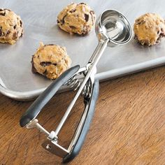 Can't live without my cookie scooper.  Never thought it would be so handy