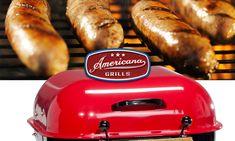 Grilled Brats anyone? Americana Grills! 🔥🔥🔥🔥🔥🔥 #americanagrills #charcoalgrills #grillingseason 🔥🔥🔥🔥🔥🔥 Grills, Cool Stuff