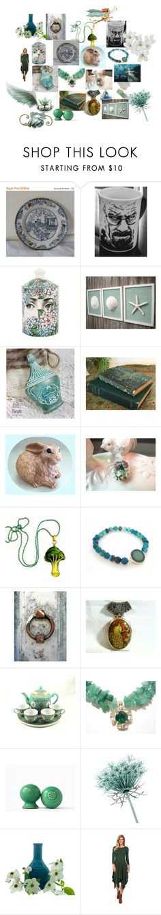 Unique Finds on Etsy by anna-recycle on Polyvore featuring Mododoc, Artista, Fornasetti, Moncler, modern, rustic and vintage