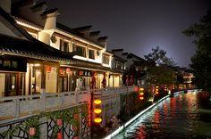 Qinhuai River,NanJing,China by Phenix Wong