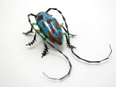 Longhorn Beetle, glass bug by Wesley Fleming