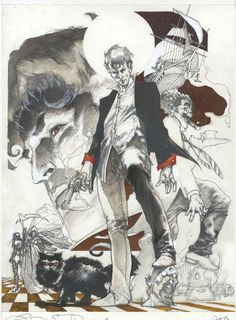 Dylan Dog color fest cover pencil by simonebianchi.deviantart.com on @deviantART