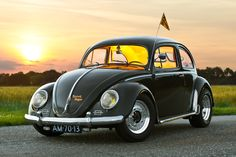 ... Thats the name of this 1953 Zwitter Bug. This awesome Bug is Featured in the Ultra VW Magazine.