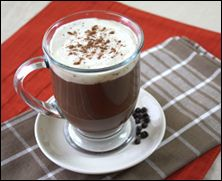 STARBUCKS GUILT-FREE MAKEOVER. Toffee Mocha Hotté. Hungry Girl's remake of Starbucks' Toffee Mocha. This recipe is only 68 calories/2 WW Pts+ vs. Starbucks drink's 270 calories/7 WW Pts+!!