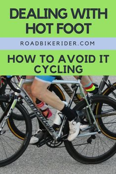 Hot foot can be very painful on long rides. Learn how to avoid it, and what to do if you are already suffering from it. Bike Quotes, Cycling Quotes, Cycling Tips, Cycling Workout, Bike Workouts, Swimming Workouts, Swimming Tips, Road Cycling, Mountain Bike Shoes