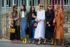 Paris SS 2017 Street Style: Georgia Tal, Diletta Bonaiuti, Gilda Ambrosio, Candela Novembre, Giorgia Tordini and Ada Kokosar