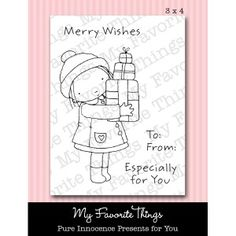 Pure Innocence PRESENTS FOR YOU Clear Stamps MFT