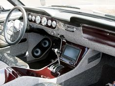1964 Ford Mustang Interior Ford Mustang Coupe, Restomod Mustang, Ford Mustang Interior, 67 Mustang, Mustang Restoration, Custom Car Interior, 1964 Ford, Classic Mustang, Ford Shelby