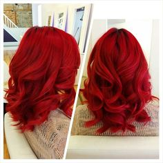 4 Bold Hair Color ideas to Try This Summer – Cassie Hopper 4 Bold Hair Color ideas to Try This Summer Bright Red Hair Color 07 Bold Hair Color, Bright Hair Colors, Red Color, Red Hair Bright Cherry, Short Bright Red Hair, Deep Red Hair Color, Red Ombre Hair, Violet Hair, Ruby Red Hair
