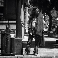 Homeless guy, San Diego