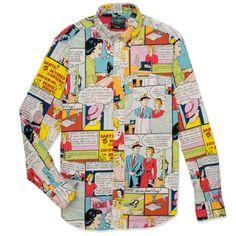 Home Sewing Shirt - Gitman Vintage SS14 www.gitmanvintage.com