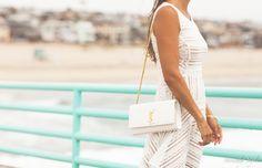 ysl shoulder bag white lace