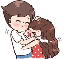 Boobib Cute Couples ( For Girl ) Vol.2 – LINE stickers | LINE STORE Cute Chibi Couple, Love Cartoon Couple, Cute Couple Comics, Cute Cartoon Girl, Cute Love Cartoons, Cute Love Couple, Anime Love Couple, Cute Love Pictures, Cute Cartoon Pictures