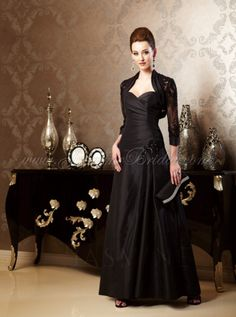 Mirella's Ladies Boutique ~ K158011bolero with gown