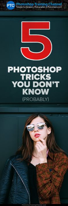 In this video, I will go through five Photoshop tricks and tips that you probably don't know.