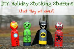 DIY #Holiday Stocking Stuffers . . . or birthday presents . . . or Easter basket surprises . . . or . . .