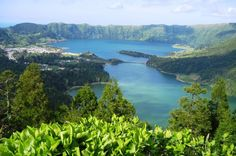 """Walking Tour - Sete Cidades Trail around the caldeira of the most beautiful lakes of Sete Cidades - Blue and GreenThis trails starts in an area that belongs to Ponta Delgada city and as a duration of about 4 hours. This trails is on the top of outside of the volcanic crater of the most know """"twin lakes"""" here you will have a chance to see different perspectives of the lakes and the coast line.Sete Cidades is 100% nature a place that you have to discover an fall in love wi..."""