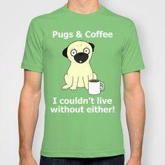 pugs & cà phê tôi không thể sống không có hai