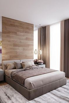 45 top Ideas for master bedroom design hotel Luxury Bedroom Design, Bedroom Bed Design, Bedroom Furniture Design, Bed Furniture, Bedroom Colors, Home Bedroom, Bedroom Decor, Small Apartment Bedrooms, Furniture Makeover