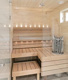 Asuntomessujen 2020 saunanostot ja saunatrendit – Saunologia.fi Grey Bathrooms, Alcove, Bathtub, Standing Bath, Gray Bathrooms, Bathtubs, Bath, Bath Tub, Tub