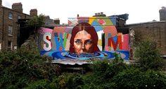 Fintan Magee x Maser New Mural In Dublin, Ireland - StreetArtNews