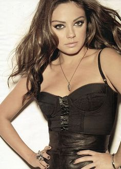 Beautiful Women of Russia - Did you know that Mila Kunis was born in Kiev, Ukrainian SSR, before the collapse of the Soviet Union in 1991?