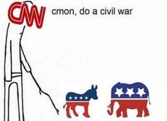The Mainstream Media is Actively Encouraging a Civil War
