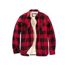 Men's flannel & plaid shirts