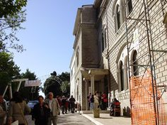 Gli edifici in passato adibiti ad Educandato femminile e ad Orfanotrofio
