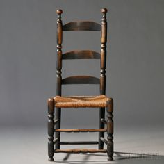 32 Best Early Ladderback Chairs Images Antique Furniture Ladder