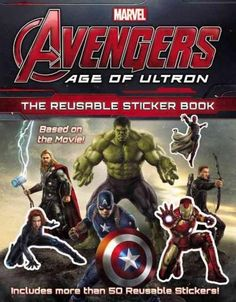 Marvel Marvel's Avengers: Age of Ultron: The Reusable Sticker Book