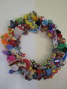 toy wreath