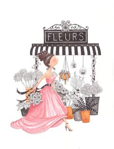 Flora series The Flower Girl