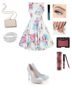 """""""Untitled #31"""" by katieescreations on Polyvore featuring Lipsy, Kayu, NARS Cosmetics, Manic Panic NYC and Kylie Cosmetics"""