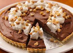 Chocolate Mousse Macadamia Tart
