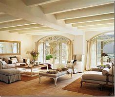 case e interni - casa campagna - stile country -Spagna (1)