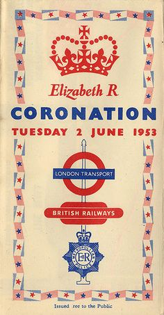 Mind the Map: Pocket Coronation Map, issued by London Transport