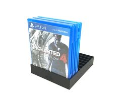 Black PS4 Game Tray