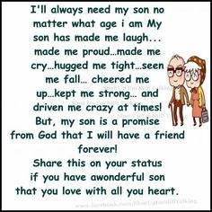 10 Best Mother And Son Quotes quotes quote kids mom mother family quote family quotes children son mother quotes Love My Son Quotes, Mother Son Quotes, I Love My Son, Mom Quotes, Family Quotes, Life Quotes, Love You, Qoutes, Mom Sayings