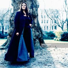 Architect Zaha Hadid is photographed on March 22, 2000 in London, England.