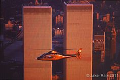 NYC, NY, Helecopter, Golden Twin Towers, World Trade Cente…   Flickr