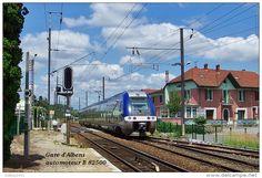 Gare D´Albens , Savoie , Automoteur B 82500 - Une Photo Reproduite Carte Postale…