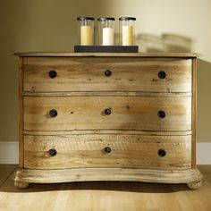 Salvaged Wood Chest of Drawers