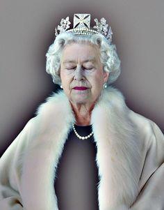 Queen Elizabeth II by Chris Levine