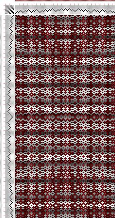 Hand Weaving Draft: cw119526, Crackle Design Project, Ralph Griswold, 8S, 8T - Handweaving.net Hand Weaving and Draft Archive