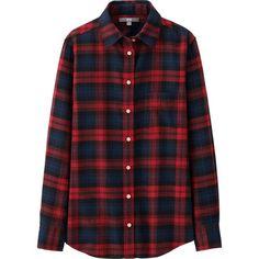 Women's Flannel Shirts & Dresses | UNIQLO