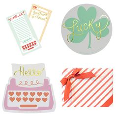 Stationery by Love. Luck. Kisses