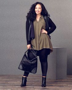 Curvy Fashion Staples for Fall to Die For! - Curvy Fashion Staples for Fall to Die For! Petite curvy fashion, Fashion outfits, Curvy fashion for women, Casual curvy fashion, edgy fashion style Casual Curvy Fashion, Winter Fashion Casual, Trendy Fashion, Feminine Fashion, Cheap Fashion, Autumn Fashion Curvy, Curvy Petite Fashion, Curvy Women Fashion, Casual Winter