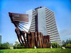 Monumento aos Açorianos / Porto Alegre / Brazil